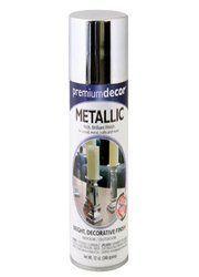 Premium Decor Metallic Spray Paint