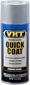 Quick Coat Silver Chrome Acrylic Enamel Can